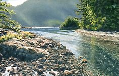 Tidal Stream, by Carol Evans
