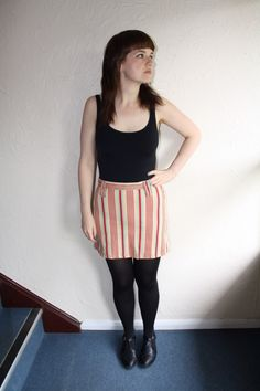 Striped Skirt www.fromluluwithlovevintage.com
