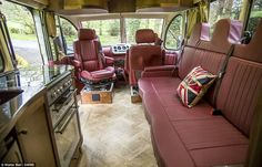 Learn more about Incredible RV Build: Modernized 1950 Bedford OB Bus on Bring a Trailer, the home of the best vintage and classic cars online. Motorcycle Camping, Camping Gear, Bedford Buses, Motorhome Conversions, Bus Living, Bus Camper, Campers, Bus Conversion, Running Gear