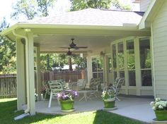 Houston Patio Covers, Affordableshade.com, Backyard Patio, Outdoor Dining,