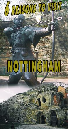 6 Reasons Why a Visit to Nottingham is a Must. This is a city for everyone - whether you enjoy history, culture, sports, literature or shopping. Europe Destinations, Europe Travel Tips, Travel Goals, European Travel, Travel Guides, Travel Plan, Beautiful Places To Visit, Places To See, Ireland Travel