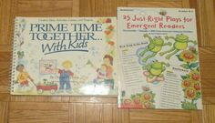 25 Just-Right Plays for Emergent Readers Prime Time Together With Kids activity Creative Teaching Press, Guided Reading Levels, Emergent Readers, English Book, Prime Time, Read Aloud, Mini Books, Plays, Activities For Kids