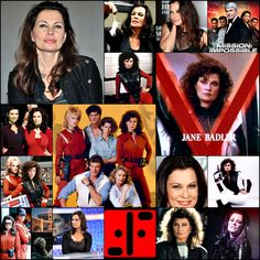 Happy birthday  //  Jane Badler [61] Sci Fi Tv Series, Sci Fi Tv Shows, Fantasy Movies, Sci Fi Fantasy, V Tv Show, Female Race Car Driver, Ghost Movies, V Collection, Original Tv Series
