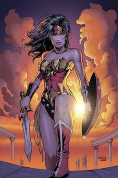 Wonder Woman colors by Arciah.deviantart.com on @DeviantArt