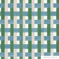 Modern Quilt Patterns, Textile Patterns, Color Patterns, Print Patterns, Textile Design, Surface Design, Creative Textiles, Check Fabric, Pattern Illustration
