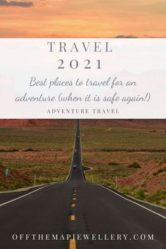 """Are you looking ahead to travel destinations in 2021? You are not alone!    You might be wondering """"will it be safe to travel in 2021?"""" or """"should I even plan to travel in 2021?"""".    If you are craving travel and adventure, we've done some research to make some travel predictions for 2021. Continue reading to learn our 11 top picks for the best places to travel in 2021 for an adventure. Off The Map, Sailing Trips, Hidden Beach, Travel Memories, Best Places To Travel, European Travel, Travel Guides, The Great Outdoors, Continue Reading"""
