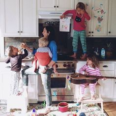 Alltag Leben in der Großfamilie