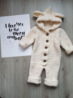 68 Ideas Crochet Baby Romper Pattern Overalls For 2019 Crochet Romper, Crochet Bebe, Crochet For Boys, Love Crochet, Crochet Gifts, Knit Crochet, Crochet Baby Clothes Boy, Crochet Baby Stuff, Crochet Baby Sweaters