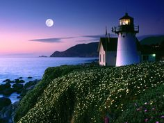 Point Montara Lighthouse, Montara CA is a hostel and a perfect place to go tidepooling and constellation hopping. see hihostels.com (US ~28 per night in 2011) and www.outside-365.b... for more info. Many lighthouses and fire lookouts have been turned into overnight rentables as we use satellites for fire lookout and ships navigation. Photographer unknown.