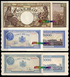 Romania banknotes, Romania paper money catalog and Romanian currency history Romania, Catalog, Money, Personalized Items, Paper, Cards, Maps, Playing Cards, Silver