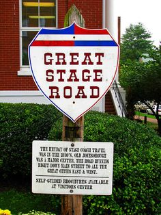 Great Stage Road......Jonesborough, Tennessee