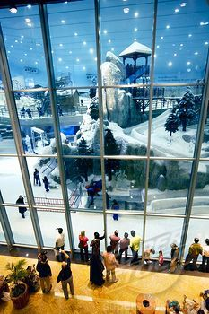 Just your typical mall with an indoor ski resort!!??
