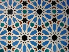 Beautiful tile patterns abound in Granada, my Spanish home away from home.
