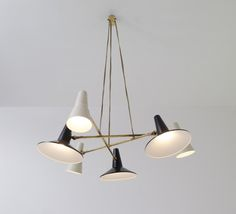 "zaar-berlin: """"242"" ceiling light, circa 1955 Designer: Gatta Bruno """