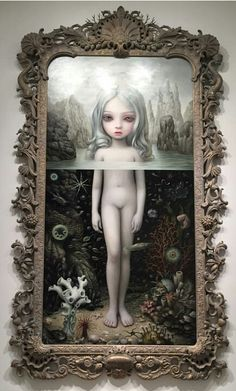 I'm totally in love with this picture. {Mark Ryden}
