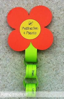 Pollintion Craft + Informative writing!! Amazing plant unit!