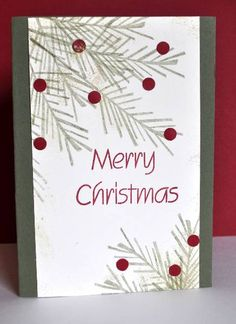 CAS Christmas by melbourne robyn - Cards and Paper Crafts at Splitcoaststampers