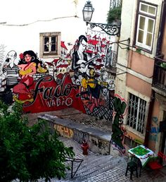 street art in Lisbon -  8 Unforgettable Ways To Experience Lisbon, Portugal      by imnotatouristiswear@gmail.com