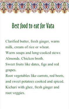 Best food for Vata