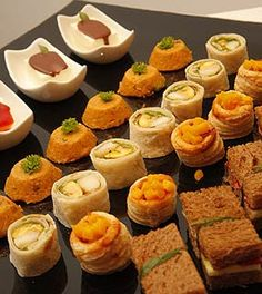 "Sugestoes de como servir ""finger food"" | Arte e Sabor"