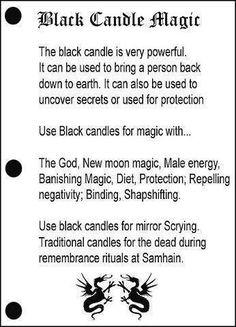 Black Candle Magic www.psychickerilyn.com www.facebook.com/Psychic.Kerilyn