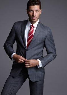 Mens Fashion Suits, Mens Suits, Grey Suits, Men's Fashion, Business Casual Men, Men Casual, Stylish Men, Men's Tuxedo Styles, Charlie Carver