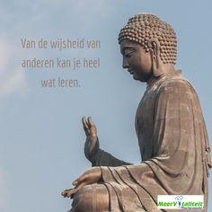 Van de wijsheid van anderen kan je heel wat leren.