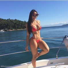 Source: allthickwomen.com - http://www.allthickwomen.com Body Motivation, Workout Motivation, Red Bikini, Bikini Azul, Bikini Babes, Bikini Girls, Thong Bikini, Bikini Underwear, Bikini Swimsuit