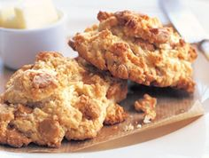 Butterscotch scones - the perfect companion to that perfect cup of coffee