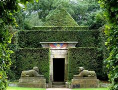 Egyptian grotto at Biddulph Grange