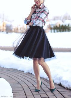 tulle circle skirt DIY tutorial 670