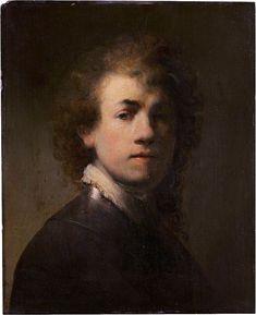 #Rembrandt | Ca. 1629| Zelfportret met Halsberg| Germanisches Nationalmuseum, Neurenberg