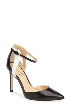 Ivanka Trump 'Gees' Ankle Strap Pointed Toe Pump (Women) available at #Nordstrom