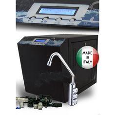 osmosi inversa residenziale a 3 vie completo di kit di installazione per acqua ambiente, acqua fredda e acqua frizzante fredda