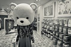 All sizes | Silly salesbear in store in Shibuya - Tokyo, via Flickr.