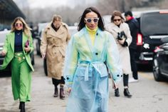 Street style at the Fashion Week autumn winter 2018 2019 Milan
