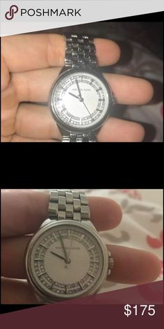 Shop Women's Michael Kors Silver size OS Watches at a discounted price at Poshmark. Mk Watch, Belize, Michael Kors Watch, Watches, Accessories, Things To Sell, Clocks, Clock
