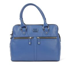Beautiful butter smooth leather Modalu Pippa bag in Azure Blue Smooth Leather, Bag Accessories, Kate Spade, Butter, London, Purses, Blue, Beautiful, Handbags