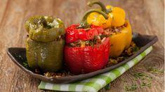 Ručak za desetku: Punjene paprike na bosanski način - stvarukusa - Povezano Salsa, Stuffed Peppers, Vegetables, Health, Food, Cakes, Diet, Skinny Kitchen, Cooking Recipes