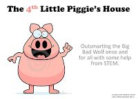 Great STEM unit for second grade using the Three Little Pigs.