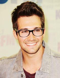 James Maslow!!! I love your glasses!