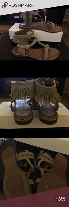 Moccasin Sandals Brown suede moccasin Sandals comfy and cute Shoes Moccasins