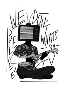 we don't believe what's on tv clique art |-/ twenty one pilots