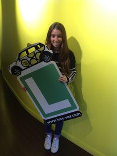 ADRIANA BARANGUÉ!!! #hoyvoy #autoescuela #barcelona