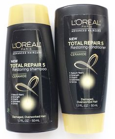 L'Oreal Total Repair 5 Restoring Trail/Travel Duo 1.7 oz * Click on the image for additional details.