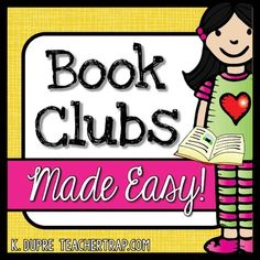Book Clubs Made Easy! Resources for launching Book Clubs in your classroom in just one week!  Boost reading comprehension and engage students instantly!What is a Book Club?Book Clubs, much like Literature Circles, are simply small groups of students getting together to talk about their reading.  (And a powerful way to develop reading comprehension!) Who is This For? 2nd - 5th Grade StudentsTeachers wanting to boost students' reading comprehension through engaging (student-led) small group…