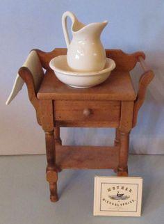 Pleasant Co American Girl Addy Doll's Nightime Necessities Washstand | eBay