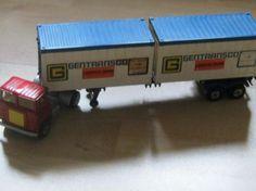 scammel truck plus K 17 trailer matchbox