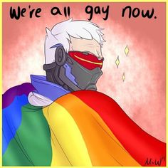 Overwatch Ps4, Overwatch Memes, Jack Morrison, Team Fortress, Gifs, Bioshock, Indie Games, Just In Case, Lgbt