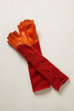 Oooo, love these.  Fingerless Gloves #anthropologie